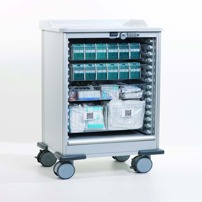 Medicart Drawers or Rollershutter – Sterisystem®