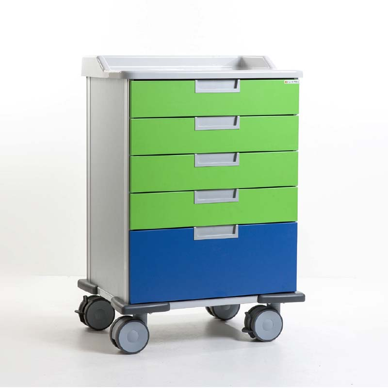 Medicart Drawers or Rollershutter - Sterisystem