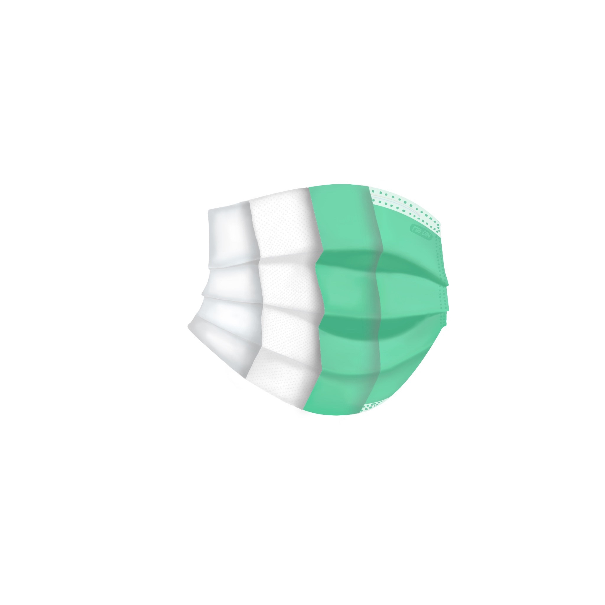 Level 3 Face Mask With Loops (50 units)